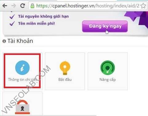 Huong dan tao hosting free trên hostinger