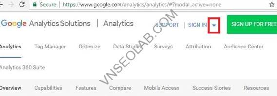 Huong dan cai dat va su dung google analytics