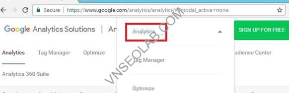 Huong dan cai dat - su dung google analytics